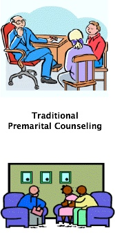 Traditional premarital counseling can be expensive.